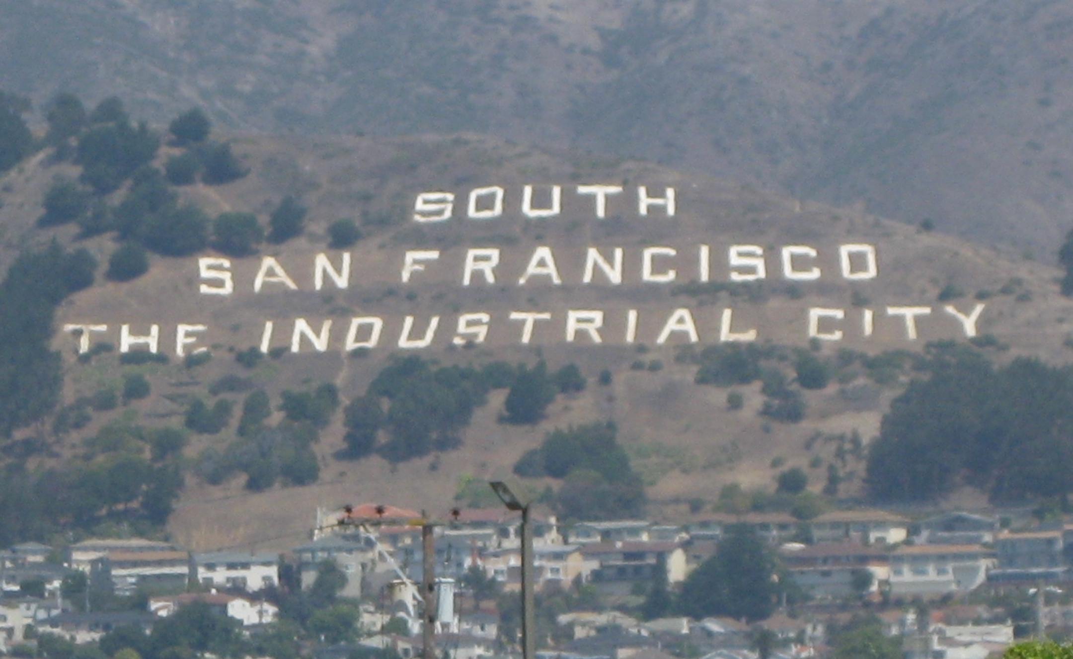 South San Francisco Sign Hill